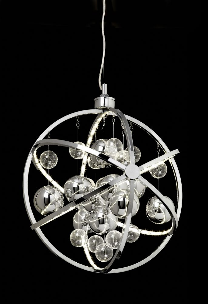 Led Chrome Pendant (Double Insulated) BXMUNI-CH-17 (Class 2 Double Insulated)